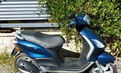 Great scooter, excellent condition, only 25 km on the