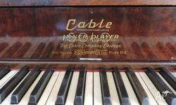 Quality American piano. The Cable Company. Chicago.