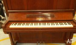 Hedke make older style piano giveaway all keys work &