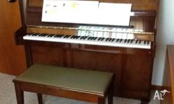 Piano for sale, nice condition. Suit beginner. Phone