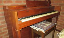 Piano Kemble minx miniature. Great piano for beginner.