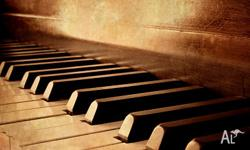 - Piano lessons - Classical, jazz or modern. - Theory