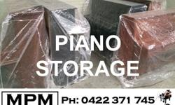 Melbourne Piano Movers. Safe and secure piano storage.