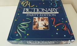 Pictionary game, Party Edition Mising the whiteboard