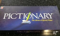 Brand New Pictionary Board Game & Opened but hardly