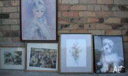 I have several picture frames for sale. Smallest