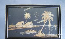"I HAVE 2 LOVELY ""FIJIAN"" PICTURES - 16.5 CMS X 26.5"