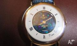 Pierre Cardin opal Face ladies Wrist Watch with pierre