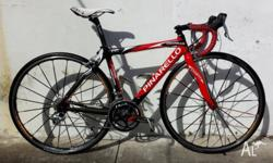 This stunning Italian road bike is a Pinarello Paris