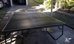 Ping pong table for sale. In fair condition - see