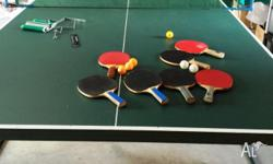 PING PONG / TABLE TENNIS TABLE - Used table tennis