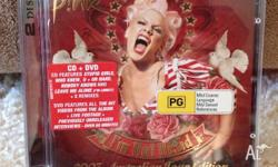 I'm Not Dead album by Pink CD and DVD set 2007