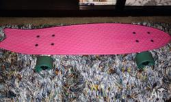 Selling my penny board, I've used it about 4 times I
