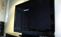 Up for sale is Pioneer Plasma Tv which is made in