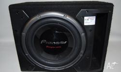 "12"" Pioneer Car Subwoofer in box. ""Champion Series"""