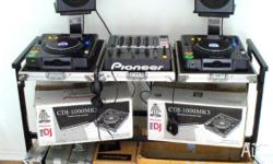 PIONEER DJ SETUP PIONEER CDJ 1000 MK3 mp3 player