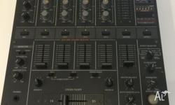 WELL LOVED HARDLY USED PROFESSIONAL DJ MIXER. NOT USED