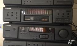 Used pioneer sound system. 6 stack cd player and FM/AM