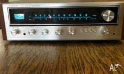 Pioneer SX-434 Amplifier Tuner Component Unit. Made in