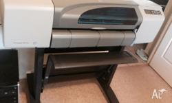 This HP Designjet 500 Plus is capable of printing A1