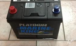 We sell Platinum Marine King Batteries for your boat
