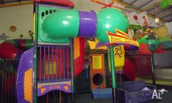 Large play centre. Can be set up either inside or