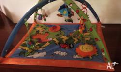 Tiny love play gym. Excellent used condition. Musical