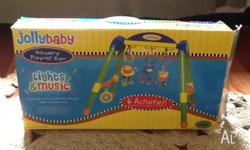 Jolly Baby Discovery Play Gym. Excellent condition.