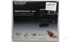 Netgear Digital Entertainer Live, brand new in the box