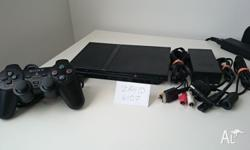 Play Station 2 (PS2) Slim. Comes with 1 Controller, A/V