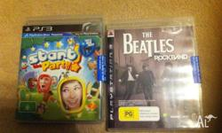 Playstation 3 brand new with sealed tag The Beatles and