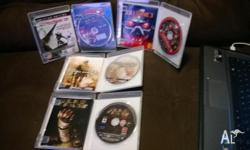 playstation 3 games, only played once or twice. PICK UP