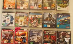 I have for sale these 48 Playstation Games that are all