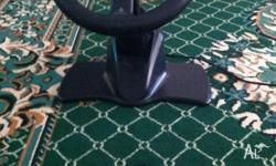Play station 2 steering wheel Only used once and works