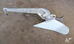 Plough Anchor 20 lb ( 9kg ) Galvanised HD Brand New. 1