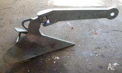 Plough Anchor 60 lb ( 27kg ) Galvanised HD Brand New. 2