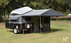 PMX Camper Trailers & Caravans have two central