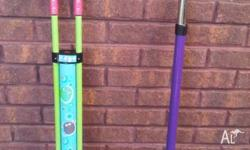 2x pogo Sticks in VGC for Chidren up to 50kg body
