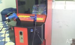 Up for sale is my Point Blank Arcade machine. In very