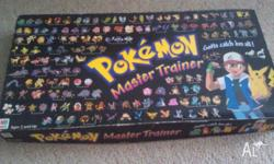 Pokemon Trainer Board Game, all pieces included. Some