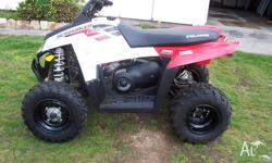 hi up for sale is my polaris 500 scrambler auto 2x4 4x4