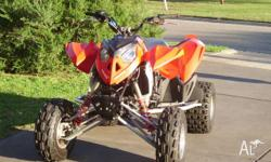 2008 Polaris OutLaw 525S Solid Axle 525KTM Motor After