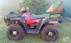 2005 Polaris Sportsman 800 V-Twin, Fuel Injected