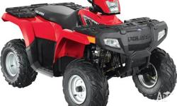 POLARIS,SPORTSMAN,A07,2010, CVT, RED, ATV, 89cc, 1cyl,
