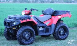 Polaris Quad Bike Sportsman 550 EFI 2011 model.