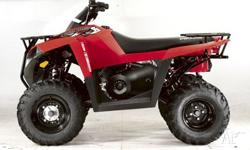 POLARIS,TRAILBOSS 330 (4x2),A07,2010, RED, ATV, 329cc,