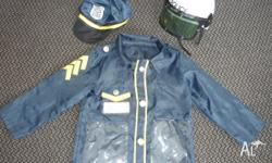 POLICEMAN Dressup - Fit 5-8 year old... Only $10 Police