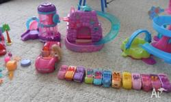 Polly Pocket collection of:- 12 No. Small Cars -