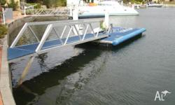 Pontoon - Dry Berth System (Piled) - 6m x 2.5m - Second