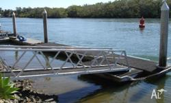 Pontoon or Marina System - Modular Piled - Second Hand,